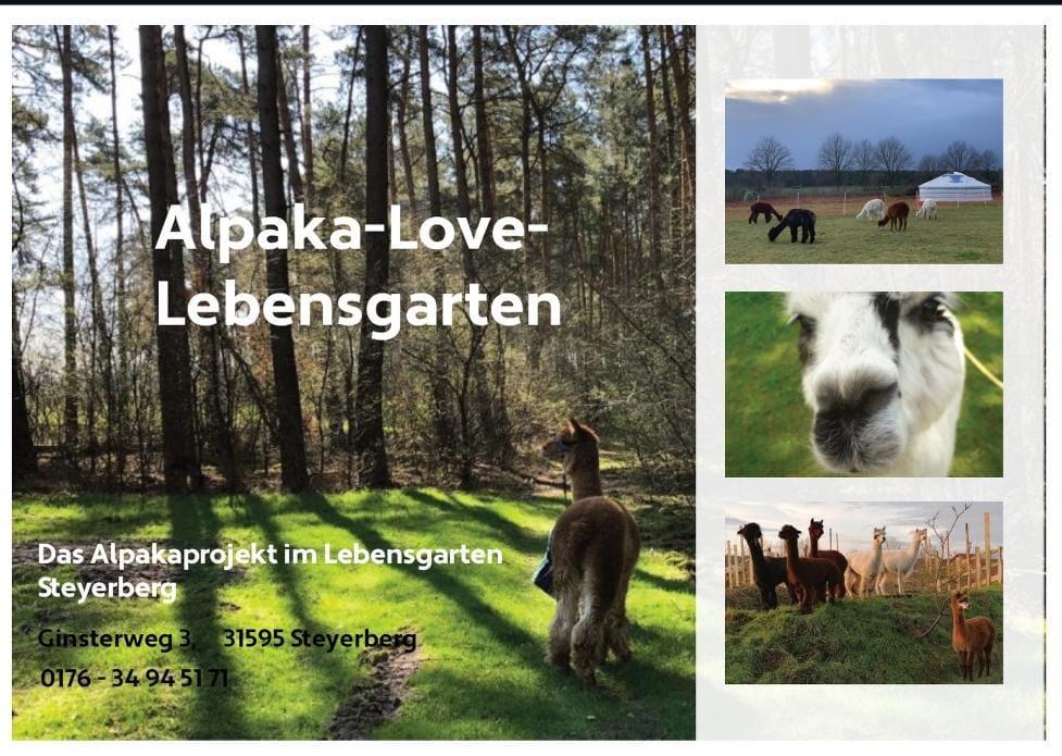 Eröffnungsfest Alpaka-Love-Lebensgarten