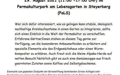 """Tag der offenen Tür auf PaLS im Rahmen der Veranstaltung """"in Goorn kieken"""""""